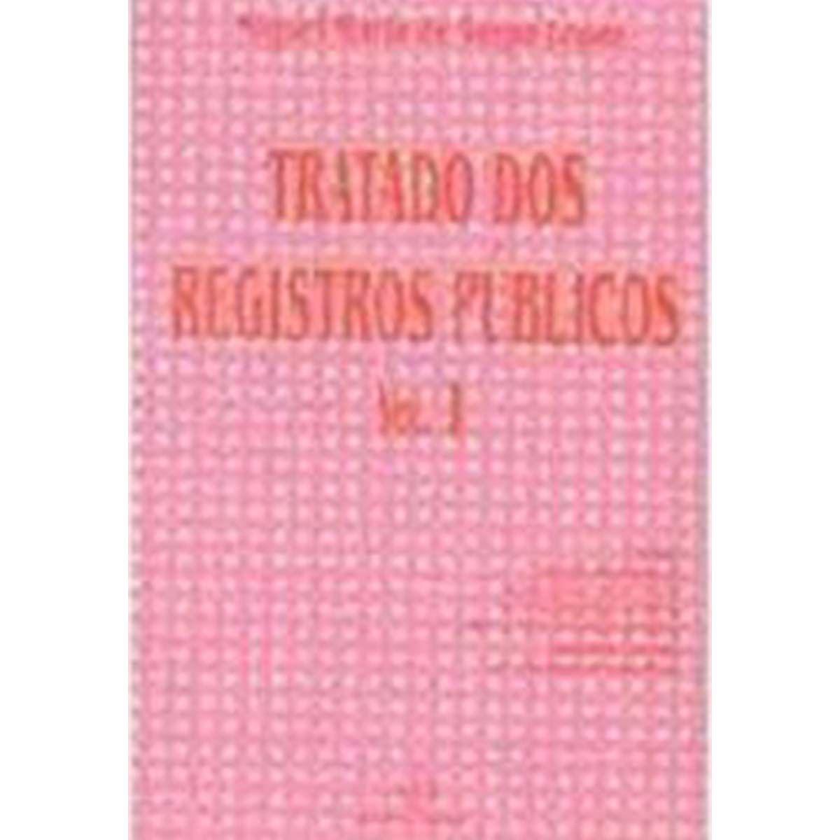 Coleção Tratado de Registros Públicos 4 Volumes - Serpa Lopes