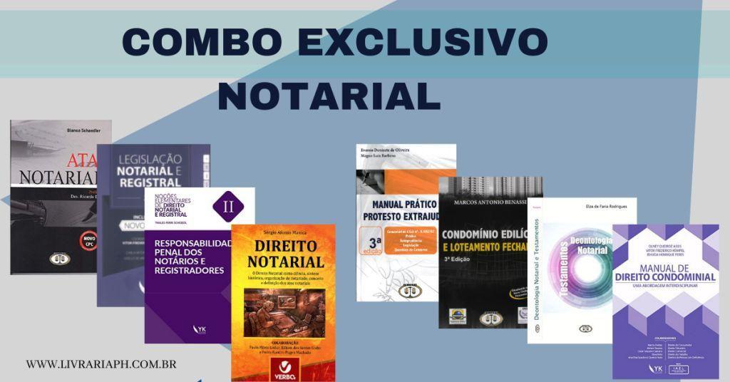 Combo Notarial Promocional - 8 Livros