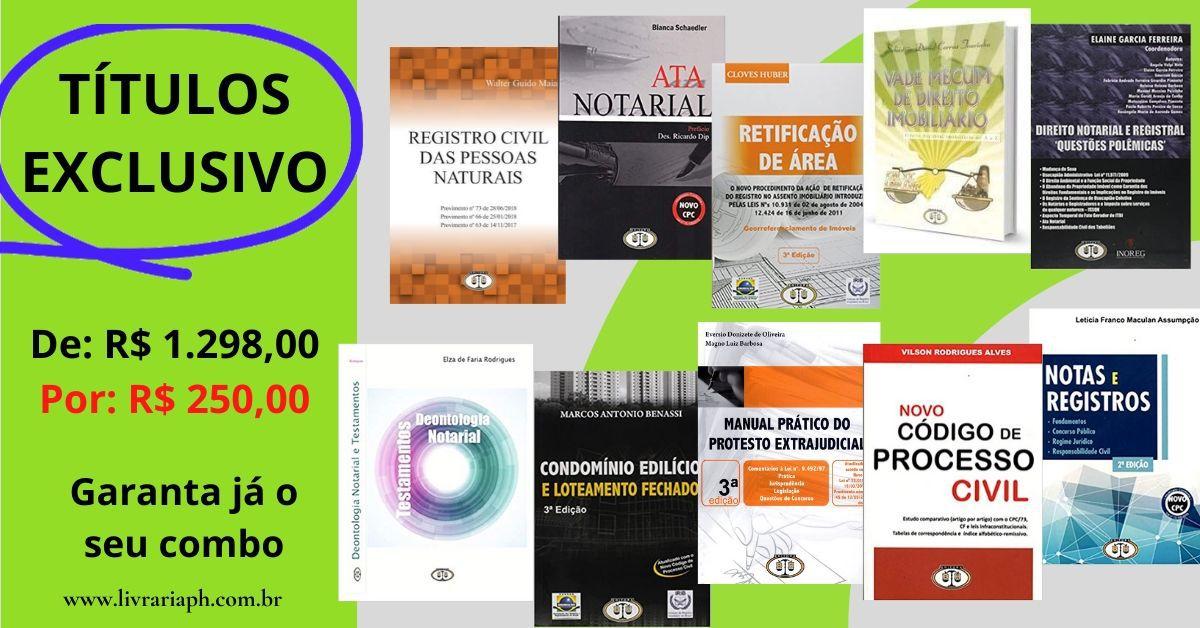 Combo Promocional Exclusivo BH Editora -10 Títulos
