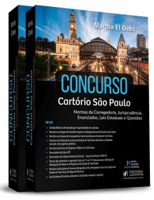 Concurso Cartório de São Paulo