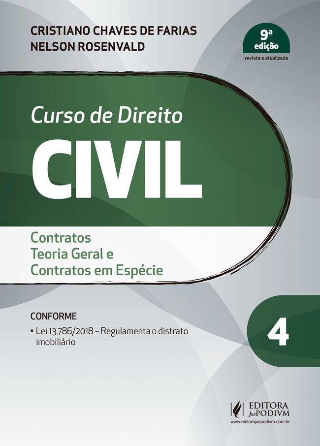Curso de Direito Civil - Volume 4 - Contratos