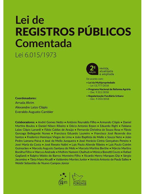 Lei de Registros Públicos Comentada