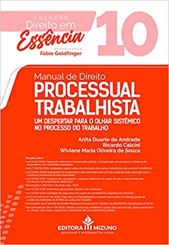 Manual De Direito Processual Trabalhista - Volume 10