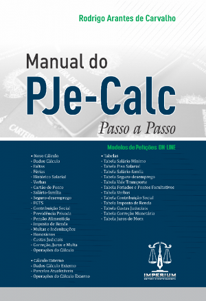 Manual do PJe-CALC - Passo a Passo