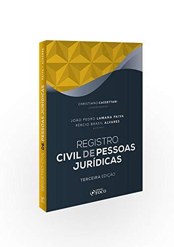 Registro Civil de Pessoas Jurídicas -  João Pedro Lamana Paiva