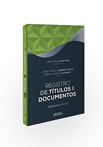 Registro de Títulos e Documentos -  João Pedro Lamana Paiva