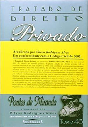 Tratado de Direito Privado - Tomo 45