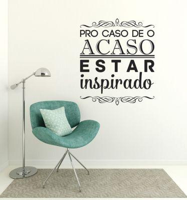 Adesivo Decorativo Frase - Inspirado