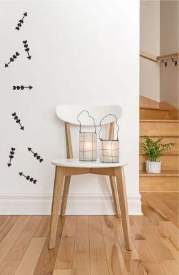 Adesivo Decorativo Geométrico - Flechas Irregular