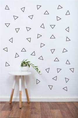 Adesivo Decorativo Geométrico - Triangulo Linhas