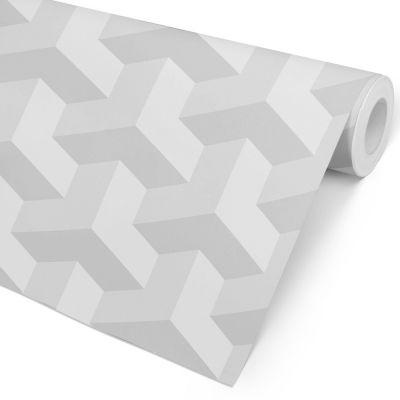 Papel de Parede 3D - Superfície Cinzenta