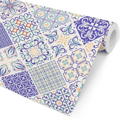 Papel de Parede Azulejo - Elementar