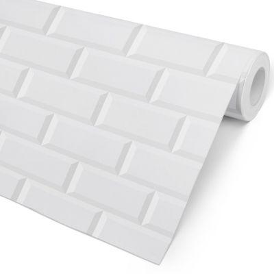 Papel de Parede Tijolo - Metro White