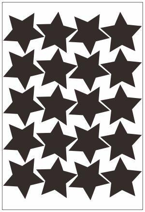 Adesivo Decorativo Geométrico - Estrelas