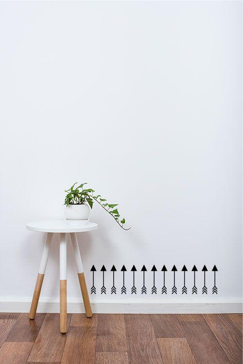 Adesivo Decorativo Geométrico - Flechas