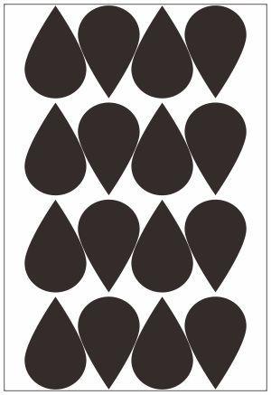 Adesivo Decorativo Geométrico - Gotas