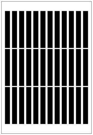 Adesivo Decorativo Geométrico - Granulados Pontas Retas