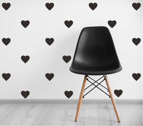 Adesivo Decorativo Geométrico - Love