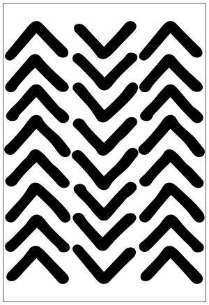 Adesivo Decorativo Geométrico - Meio Triangulo Irregular
