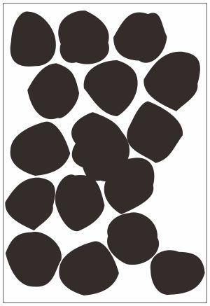 Adesivo Decorativo Geométrico - Pedrinhas