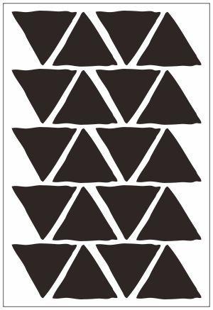 Adesivo Decorativo Geométrico - Triangulo Desigual