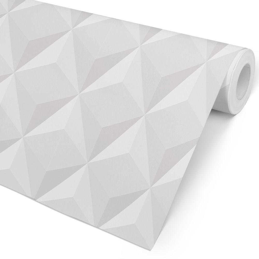 Papel de Parede 3D - Atmosfera Cinza