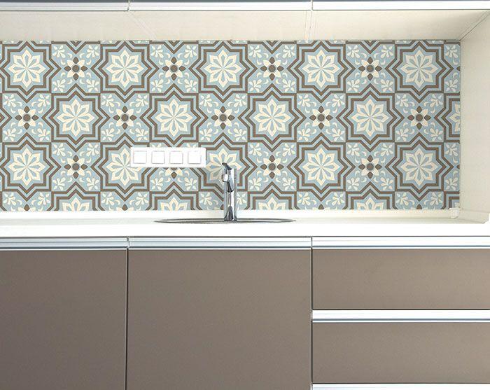 Papel de Parede Azulejo - Complementar