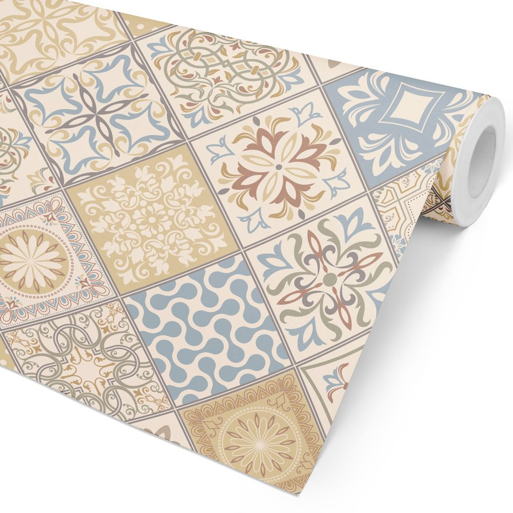 Papel de Parede Azulejo - Ornamental