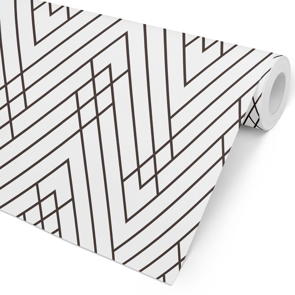 Papel de Parede Geométrico - Atração