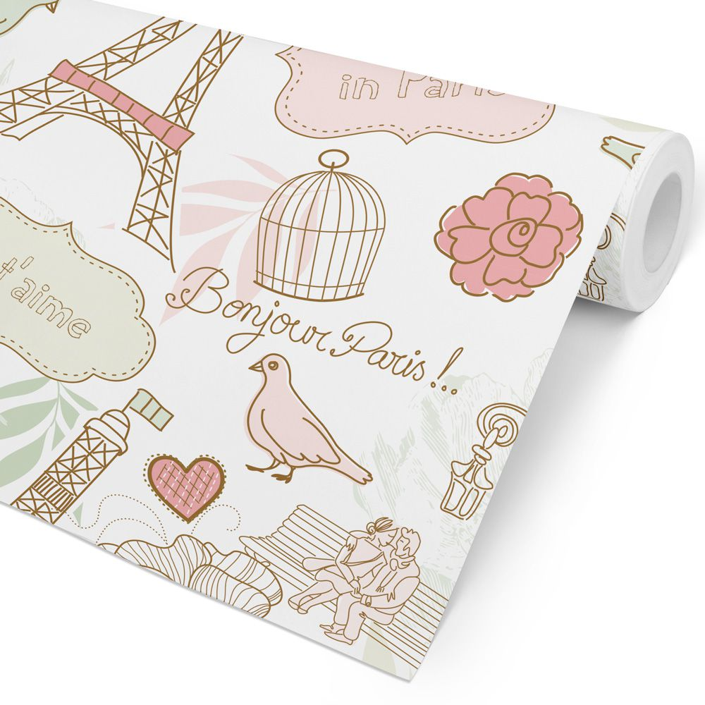 Papel de Parede Kids/Teen - Love in Paris