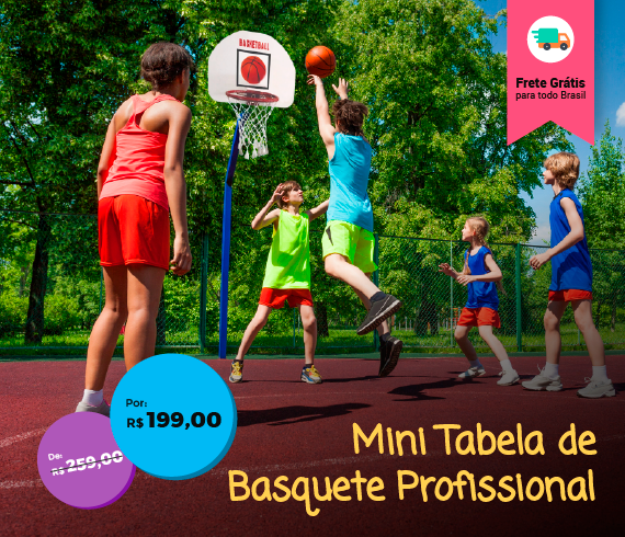 mini tabela de basket c/ aro