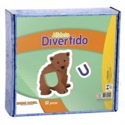 Alfabeto Divertido M.d.f. 50 Pc