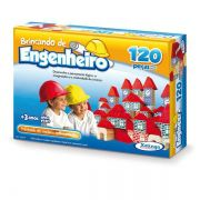 Brincando De Engenheiro 120 Peças