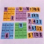 Loto Aritmetica Em E.v.a. C/ 5 Placas E 45 Pc