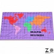 Mapa Mundi E.v.a. 22,5 X 37 Cm