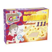 Material Dourado Individual 111 Pc Mad Cx Papel