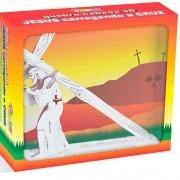 Quebra-Cabeca 3d Jesus Carregando A Cruz