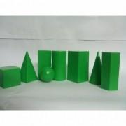 Solidos Geometricos Em Plastico C/ 8 Pc