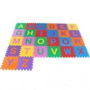 Tapete Pedagogico Alfabeto C/ 26 Peças 30 X 30 Cm