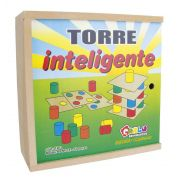 Torre Inteligente - Mad. - 63 Pc- Cx. Mad.