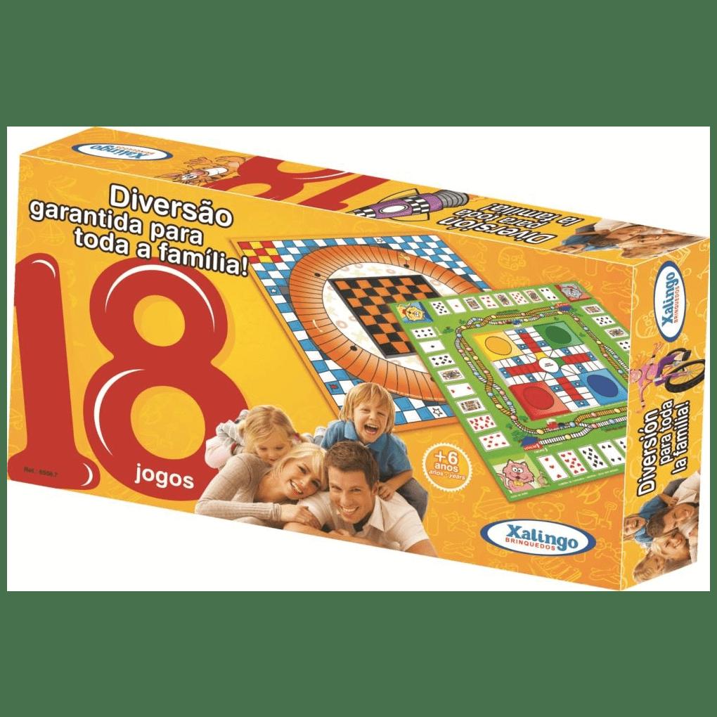 18 Jogos  - Alegria Brinquedos