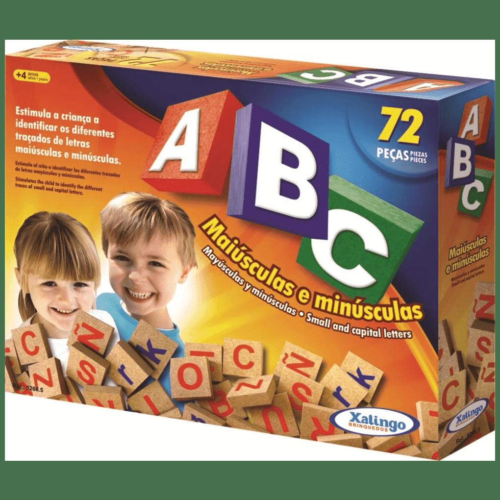 ABC Com 72 Peças  - Alegria Brinquedos
