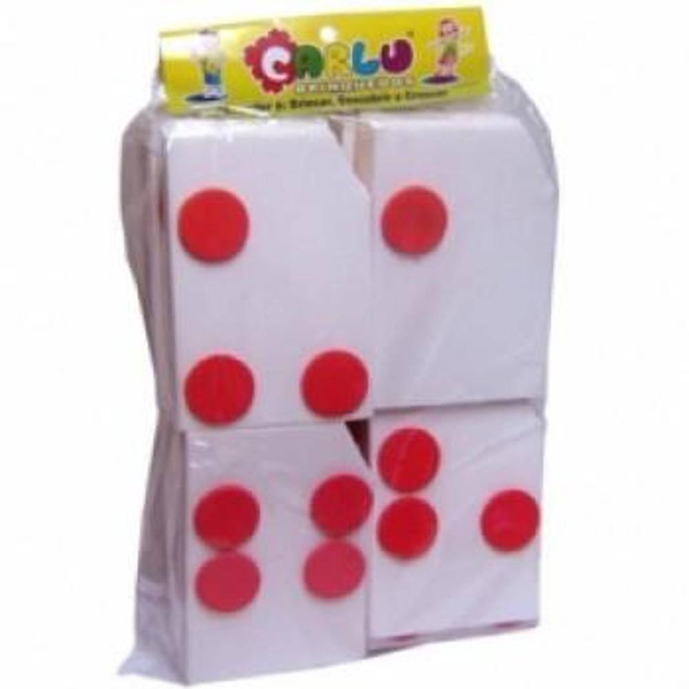 Alfabeto Braille Colado E.v.a 26 Pç 10 X 7 Cm  - Alegria Brinquedos