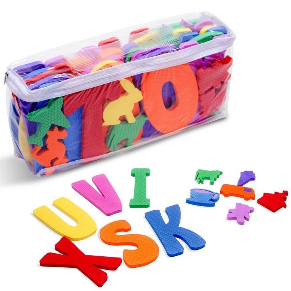 Alfabeto Com Objetos Relacionados A Escrita  - Alegria Brinquedos