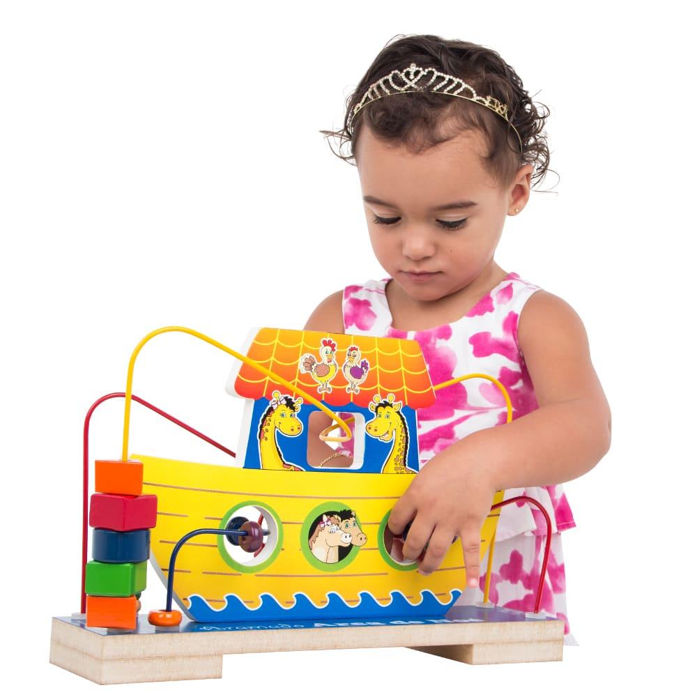 Aramado Arca De Noé  - Alegria Brinquedos