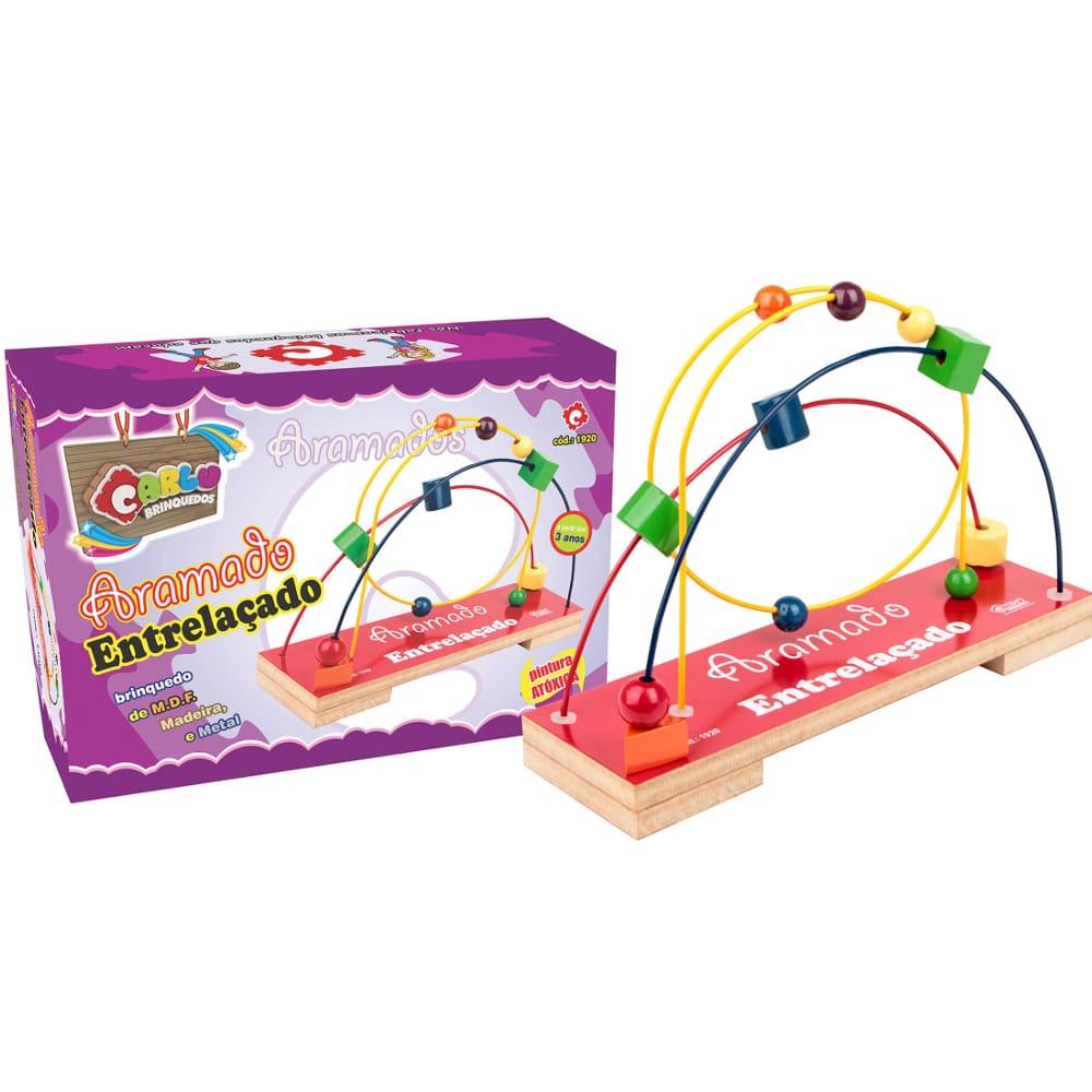 Aramado Entrelaçado  - Alegria Brinquedos