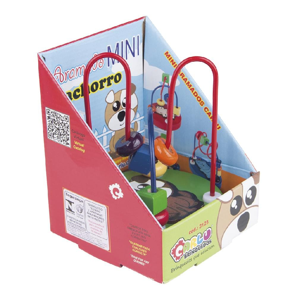 Aramado Mini - Cachorro  - Alegria Brinquedos
