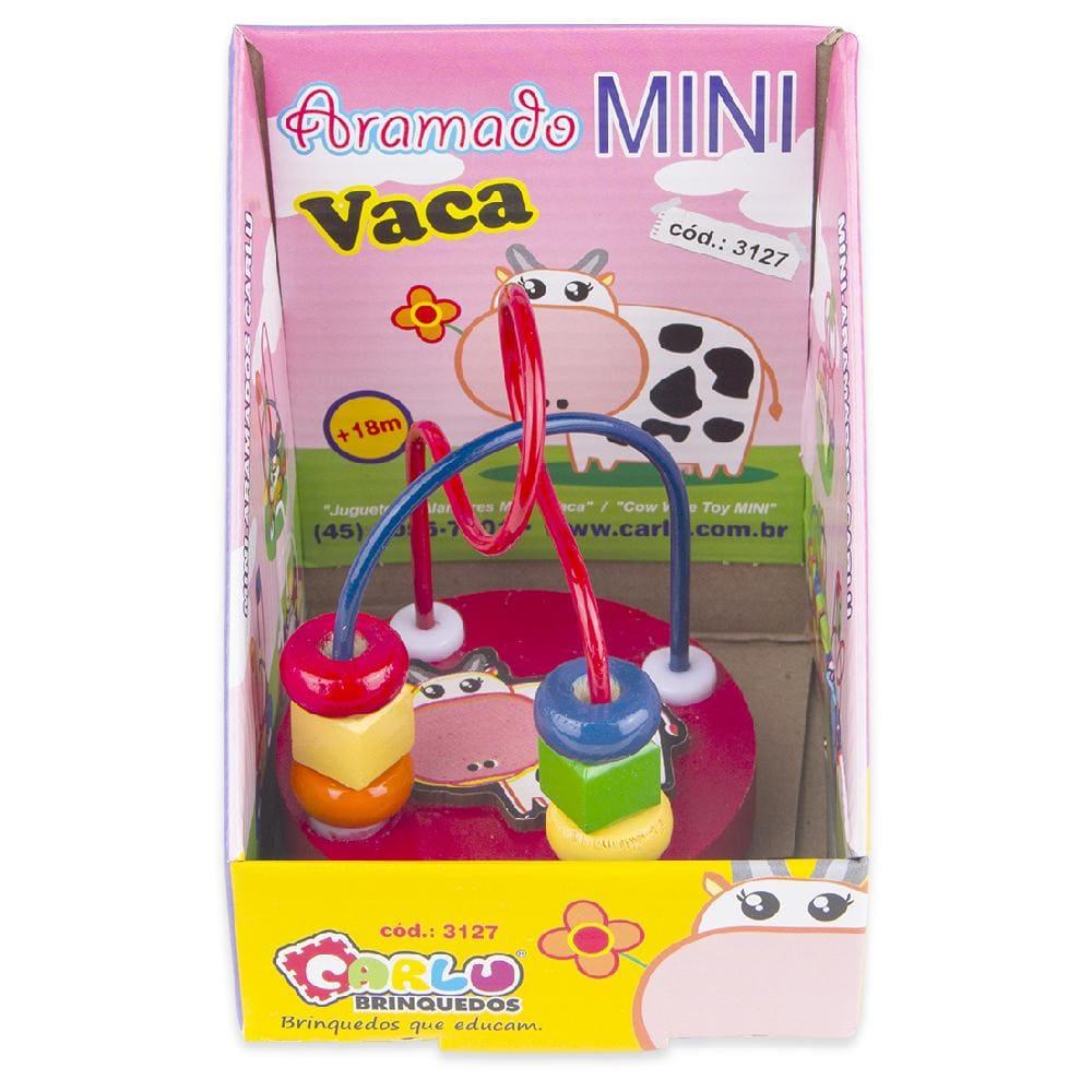 Aramado Mini - Vaca  - Alegria Brinquedos