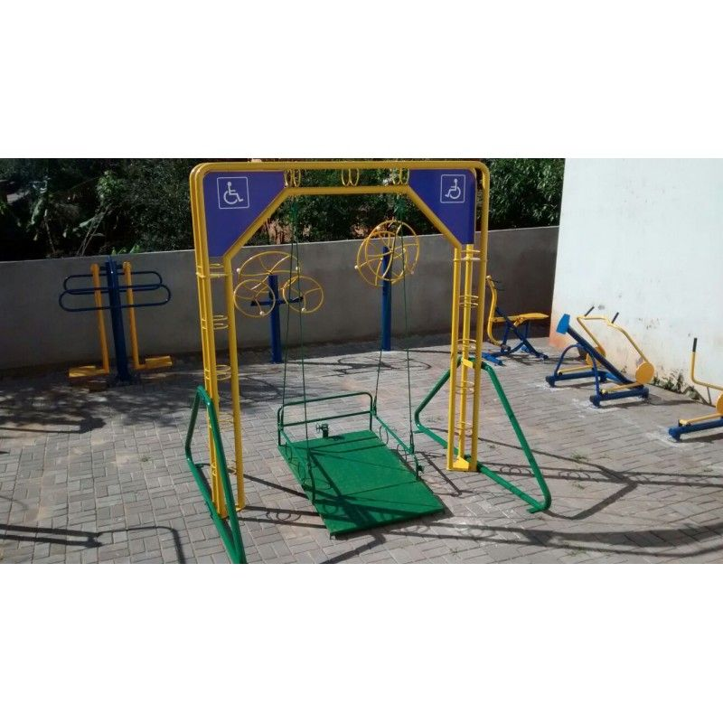 Balanço para Cadeirante  - Alegria Brinquedos