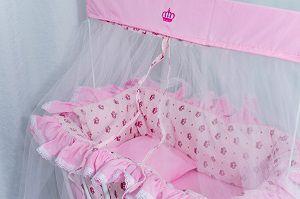 Berço Baby Rosa - Facil Esporte  - Alegria Brinquedos